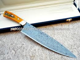 Custom Made Kitchen Knives Custom Made Damascus Steel Chef Knife Custom Knifes Pinterest