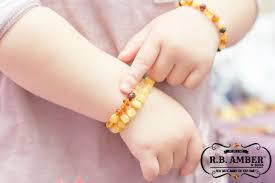 Childrens Bracelets Baltic Amber Aromatherapy Children U0027s Bracelets R B Amber U0026 Sons