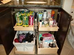 bathroom cabinet organization ideas best 25 under cabinet storage ideas on pinterest bathroom sink