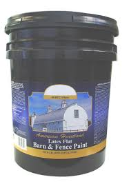 american heartland flat white latex barn u0026 fence paint 5 gal at