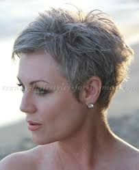 pixie grey hair styles short hairstyles over 50 pixie cut for grey hair trendy