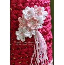 Tiny Flower Crochet Pattern - lampshade cover crochet free pattern u0026 tutorial craft passion