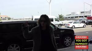 chris cornell departing at lax airport in los angeles youtube