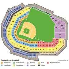 fenway park seating map vipseats com fenway park tickets