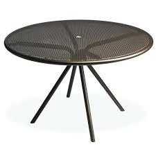 Metal Mesh Patio Table Steel Mesh Patio Furniture Travel Messenger