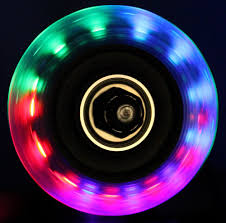 light up roller skate wheels amazon com bigfoot wheels led inline wheels 64mm 82a skate