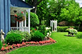 Home Decor Trends Over The Years by Flower Gardens In Front Of House Home Design And Decorating