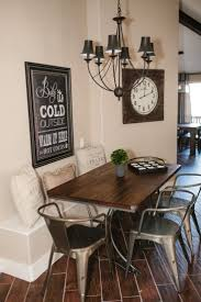 dining room table with bench on one side bench decoration