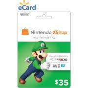 nintendo eshop gift card nintendo eshop 20 email delivery walmart