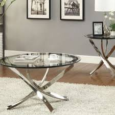 metal and glass end tables furniture glass and metal coffee table for living room www