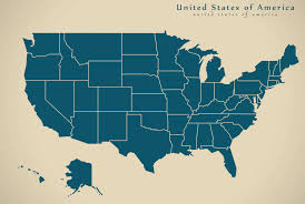 Blank Usa States Map by Us Map
