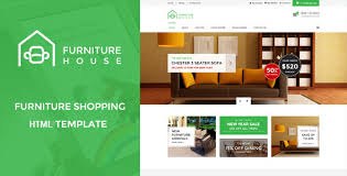 furniture house ecommerce shop html template by wpmines