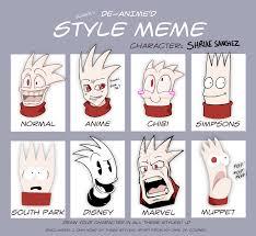 Different Memes - actual different styles meme by zeurel on deviantart