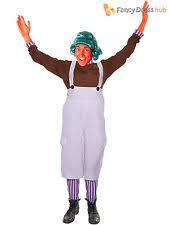 Oompa Loompa Halloween Costumes Adults Mens Oompa Loompa Costume Ebay
