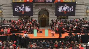 world series chion san francisco giants celebrated at parade