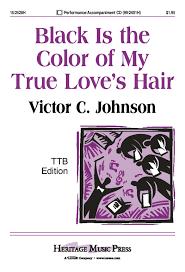 black is the color of my true love u0027s hair ttb victor c