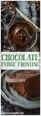 dark chocolate fudge frosting recipe chocolate cakes