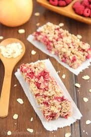 chewy raspberry apple granola bars amy u0027s healthy baking