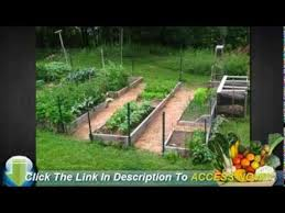 how to set up a raised bed vegetable garden youtube