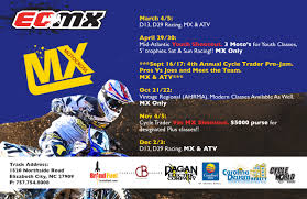 2015 ama motocross schedule ecmx u2013 elizabeth city motocross club