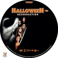 halloween resurrection dvd label 2002 r1 custom