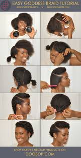updo transitional natural hairstyles for the african american woman 2015 easy natural hair how to goddess braid with earth s nectar hair