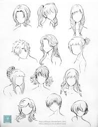 How To Draw Female Anatomy Best 25 Drawing Hairstyles Ideas Only On Pinterest Manga