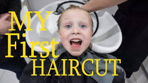 my first haircut long to short hairstyle youtube