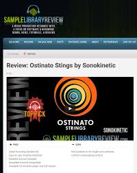 ostinato strings sonokinetic sample libraries and virtual