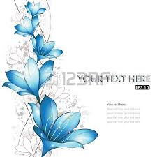 blue lilies blue lilies design vector illustration eps 10 royalty free