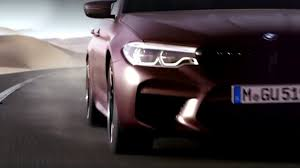 2018 bmw m5 f90 teased looks extremely fast