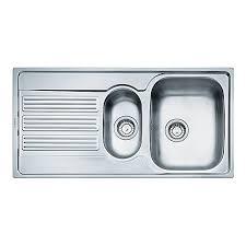 Wickes Kitchen Sinks Sale - franke galileo 1 5 bowl kitchen stainless steel sink u0026 drainer