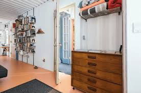 Interior Design Shipping Container Homes Couple Moves Into Cool Shipping Container Home In New York City