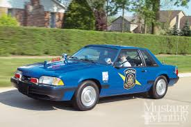1992 ford mustang 1992 ford mustang ssp retired from duty photo image gallery