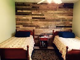 Wood Pallet Headboard Pallet Wall Paneling For Bedroom Pallet Furniture Diy