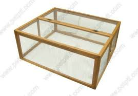 Rabbit Shack Hutch Classic Free Standing Outdoor Rabbit Hutch Run 4 Sided Rabbit