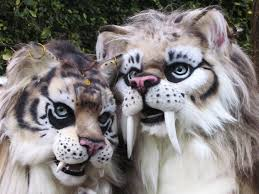 saber tooth cat costumes youtube