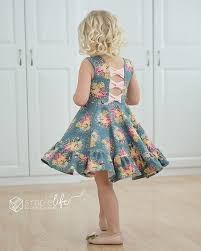 pattern dress pdf aria s bow back top dress pdf downloadable sewing patterns for