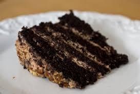 Erica U0027s Sweet Tooth Chocolate Hazelnut Mousse Layer Cake