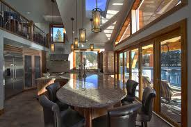 Kc Interior Design by Granite Top Dining Table Kitchen Traditional With Chilliwack