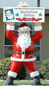 Santa Claus Indiana Christmas Ornaments santa claus with ensign of indiana ceramic ornament