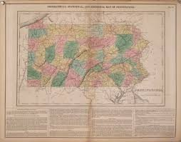 Maps Of Pa Antique Maps Of Pennsylvania