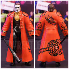 dolph ziggler halloween costume figure friday wwe hall of fame sting custom elite wcw sting