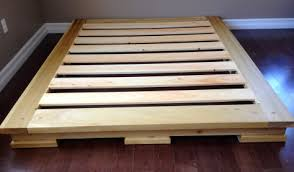 sold sold custom made platform bed from dimensional wood