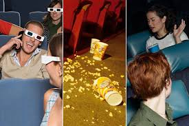 people are avoiding movie theaters because of rude people