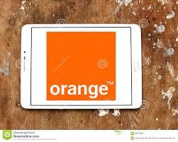 orange mobile operator logo editorial photography image 89679632