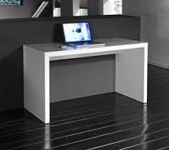 bureau design laqué blanc bureaux classiques droits inside 75 achat vente de bureaux