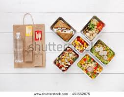 fruits delivery healthy food delivery take away diet stock photo 451552675
