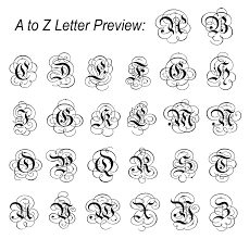 monogram letter stickers fancy monogram letter wall decals wall stickers without