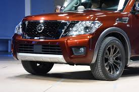 nissan frontier 2017 2017 nissan armada unveiled with 8 500 pound towing capacity